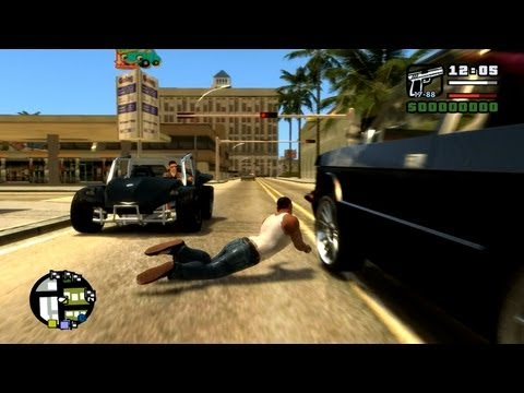 Not So Funny Moments w/ CJ in GTA IV: San Andreas
