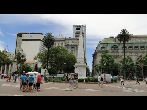Buenos Aires - nice day trip through the metropolis of Argentina in HD