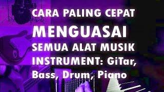 Cara Mudah Cepat Belajar Gitar, Bass, Drum & Piano Bersama Dani Mkd (Part 2)