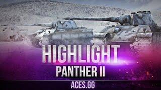 Настоящий хищник. Panther II в World of Tanks