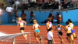 久保瑠里子 スーパー陸上2010 Elena Kofanova1st Tetiana Petlyuk2nd Ruriko Kubo3rd