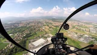 Prima prova di guida con elicottero - Gopro hero 3 black edition
