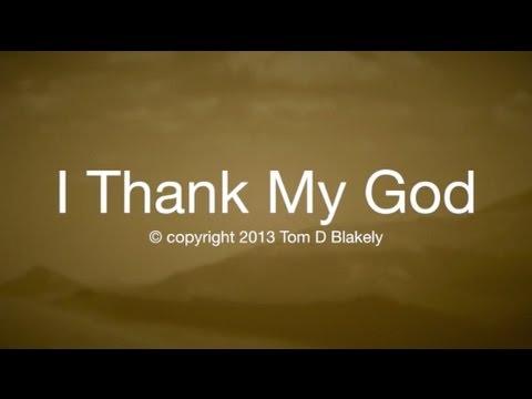 I Thank My God (New Gospel Song)