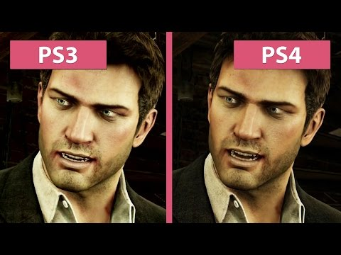 Uncharted The Nathan Drake Collection Uncharted 3 Ps3 Vs Ps4