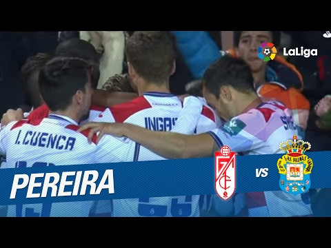 Golazo de Pereira (1-0) en el Granada CF vs UD Las Palmas