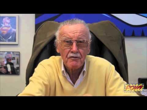 Stan Lee sings the DeWitt Clinton HS Fight Song