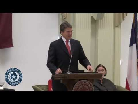 Gov. Perry and First Lady Honor Texas Women's Hall of Fame 2012 Inductees