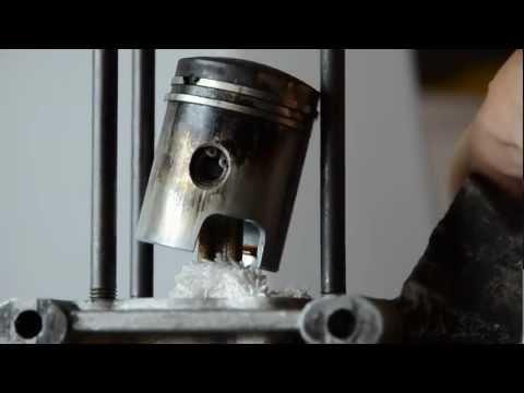 Ciao Piaggio - Videoguida come smontare e rimontare il gruppo termico (testa pistone e cilindro)