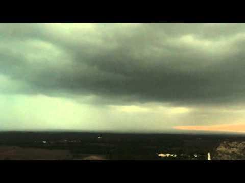 Thuderstorms over Hubballi shot from Budangudda
