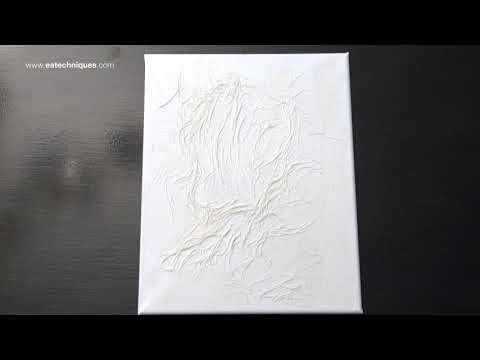How To Make Paper Textures On Canvas