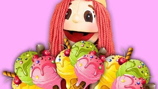 Ice cream Man Song for Kids | Super Simple Nursery Rhymes. Sing Along With Tiki.