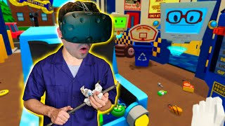 EL MEJOR MECÁNICO!! Job Simulator (HTC VIVE VR) thumbnail