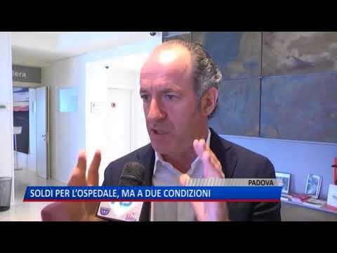 TG (26/04/2018) - SOLDI PER L'OSPEDALE, MA A DUE CONDIZIONI