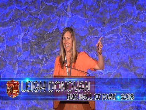 2013 National BMX Hall of Fame - Leigh Donovan