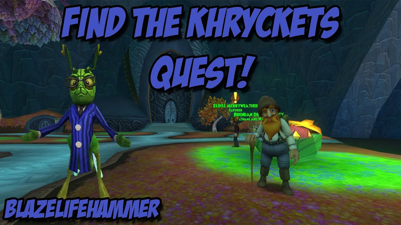 Wizard101: Find the Khryckets Quest - All Locations Guide