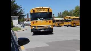 monte vista christian school buses on the last day of school 5 24 13