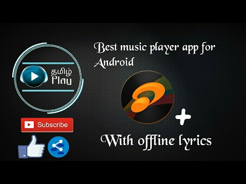 Best Music player app with offline lyrics for Android - Tamil