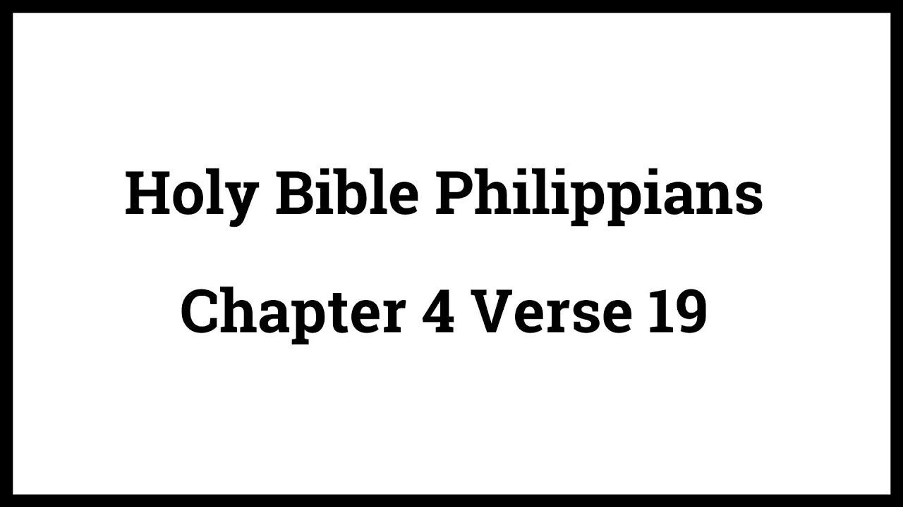 Holy Bible Philippians 419