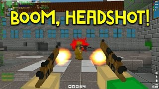 BOOM, HEADSHOT! | Blockade 3D - Ep. 8