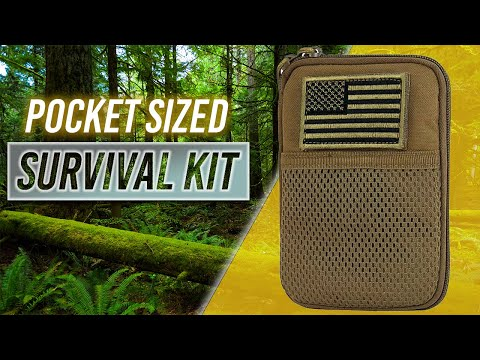 Pocket Sized Survival Kit – A usable Survival Kit! – Condor Pocket Pouch Quick Review