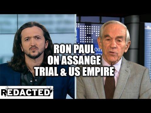 [196] Ron Paul On Assange Trial & US Empire