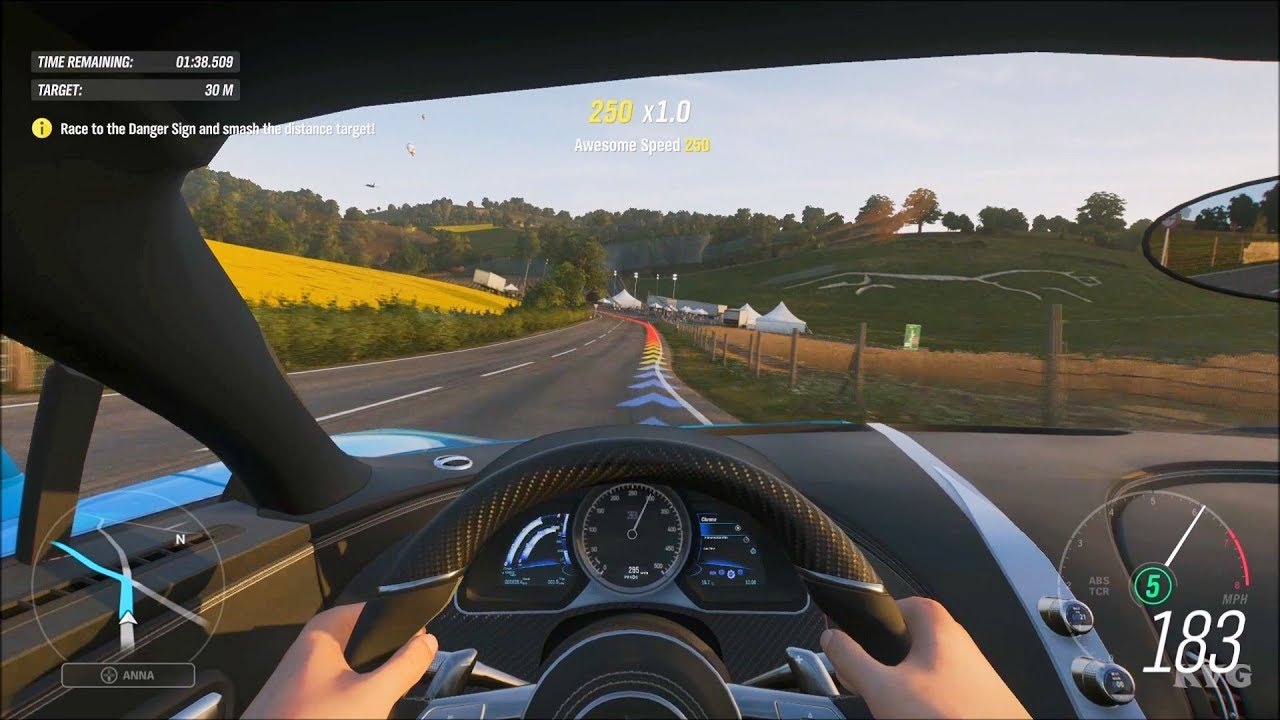 Forza Horizon 4 Cockpit View Gameplay Hd 1080p60fps Youtube