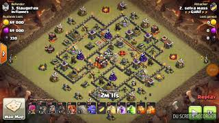Th10 3 star war attack without heroes