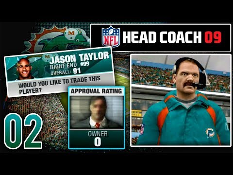 Our First Year Just Started & We Might Get Fired - NFL Head Coach 09 Career Mode   Ep.2