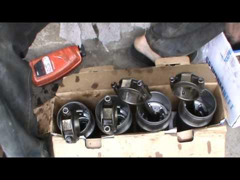 Подробная Сборка 402 двигателя дома Волга, Газель 3 Часть