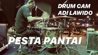 Pesta Pantai medley Don't Worry - Tony Q Rastafara(drum cam)