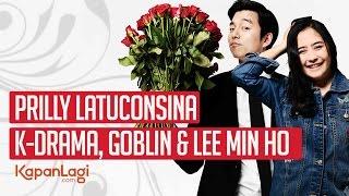 Video Prilly Latuconsina - Dicemburui 'Goblin' & Dipeluk Lee Min Ho download MP3, 3GP, MP4, WEBM, AVI, FLV Maret 2018
