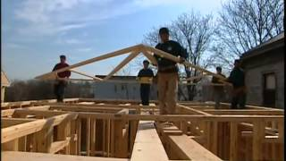 Construction Of The Roof Truss System