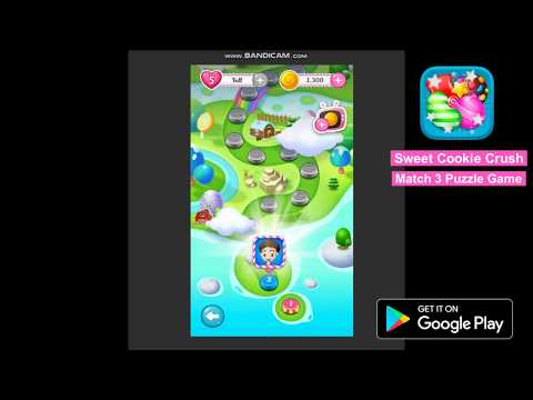 Sweet Cookie Crush Match 3 Puzzle Game for Android Free Download