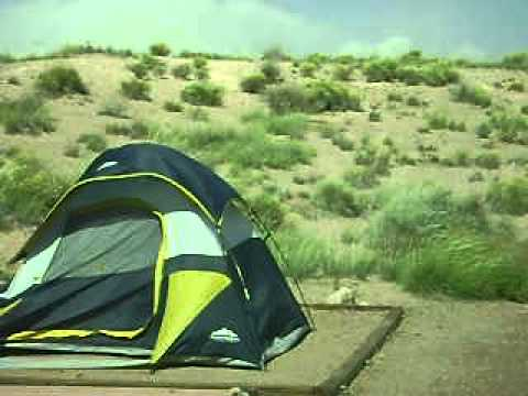 $29.00 Tent Blowing in High Winds & $29.00 Tent Blowing in High Winds - YouTube