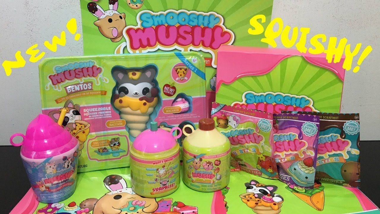 Smooshy Mushy Squishy Toy Unboxing and Review - YouTube