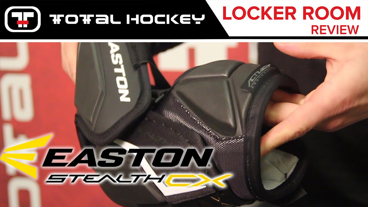 8a6d5cc5d6a Easton Stealth CX Elbow Pads    Locker Room Review - YouTube