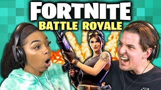 FIGHT TO THE FINISH! | FORTNITE: BATTLE ROYALE (React: Gaming)