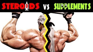 💪 Steroids Injections VS Testosterone Boosting Supplements - by Dr Sam Robbins