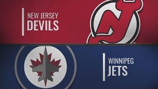 Виннипег vs Нью-Джерси | New Jersey Devils at Winnipeg Jets | NHL HIGHLIGHTS | НХЛ ОБЗОР МАТЧЕЙ