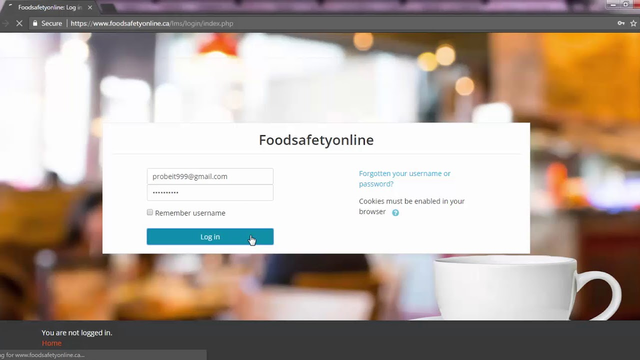 How to download your food handler certificate youtube how to download your food handler certificate xflitez Choice Image