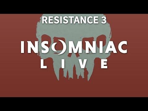 Insomniac Live - Resistance 3 - pt 1