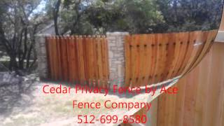 Austin Texas Cedar Privacy Fence Installers 512-945-7013