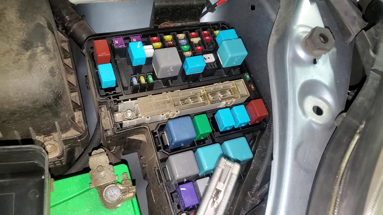 2006 Toyota Sienna Fuse Box Location | schematic and ...