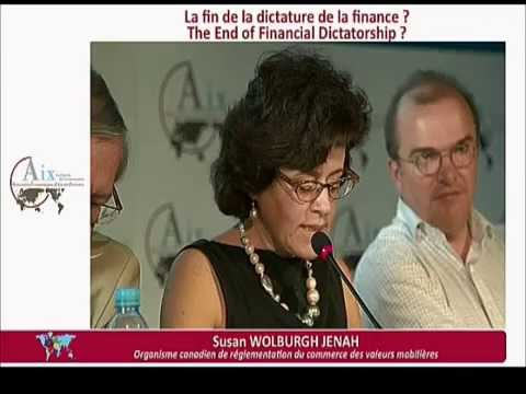 Session 5 La fin de la dictature de la finance ? Aix 2013