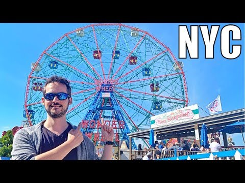 Coney Island, Brooklyn - NYC's MOST FAMOUS Beach & Boardwalk ! (Things To Do & Eat)