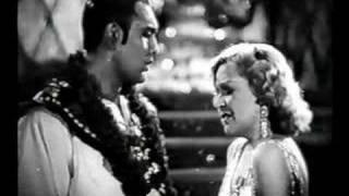 Marta Eggerth: Kann nicht küssen ohne Liebe/ Blume von Hawaii - Filmton und Filmbilder
