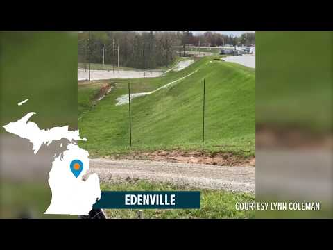 Michigan Dam Failure Caught On Video
