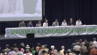 Universala Kongreso de Esperanto 2016 - Solena fermo - parto 1
