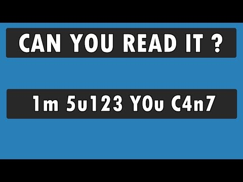 Can You Read What Most People Cant ? 90% FAIL