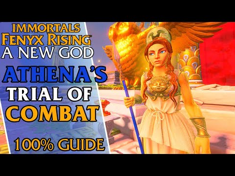 Athena's Trial Of Combat In Immortals Fenyx Rising |